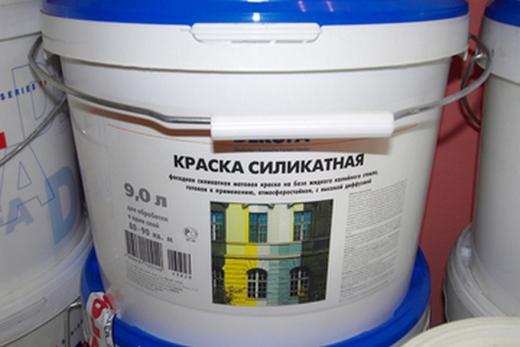 Силикатная краска для потолка ванной комнаты