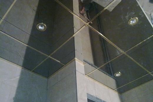 Потолок из оцинкованной стали: отличие от алюминиевого потолка