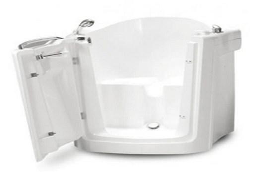 Поддон для душа в форме ванны-стула