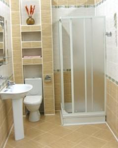 Душевая кабина вместо ванны в совмещенном санузле