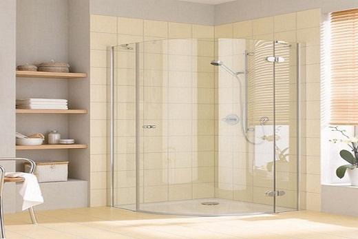 Дизайн ванной с душево