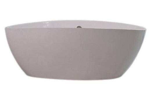 Шведская ванна Romance Collection Fusion из литьевого мрамора