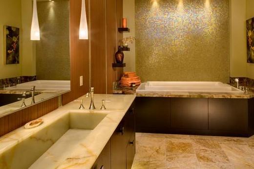 отделка ванны мозаикой фото
