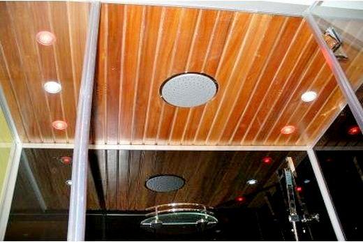 Душевая кабина Eago DZ 959 F8: отделка потолка