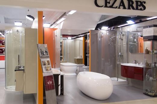 Сантехнический отдел в магазине Jnltk cfynt[ybrb d vfufpbyt Ванны в магазине Cezares-Shop