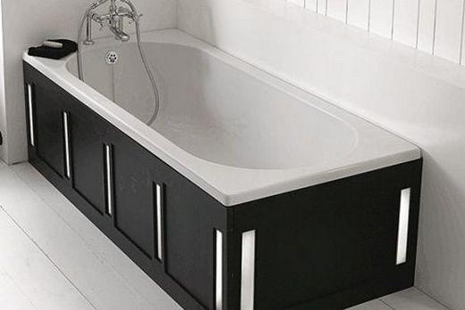 Сидячая чугунная ванна