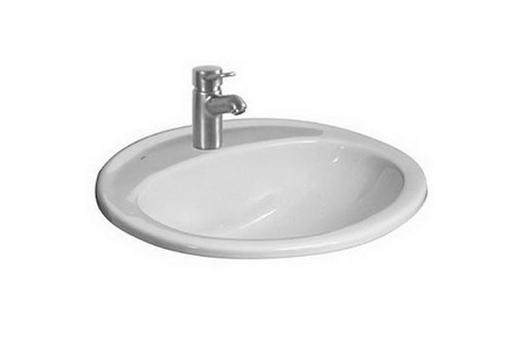 Овальная керамическая раковина Jika для ванной