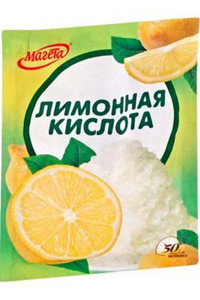 Как замедлитель, многие используют известь и лимонную кислоту