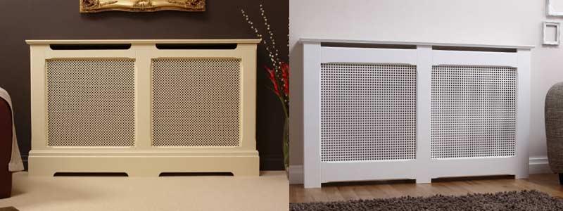 Радиаторы отопления с декоративными решетками