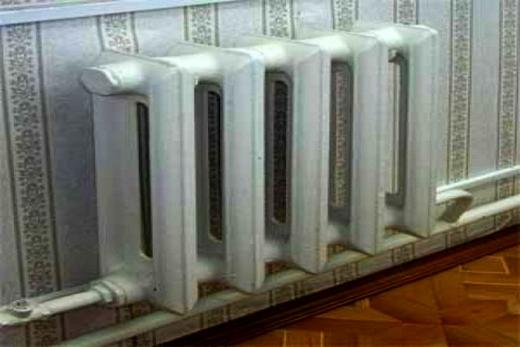Современный радиатор из чугуна