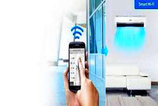 Samsung кондиционер, оснащенный опцией Wi-Fi