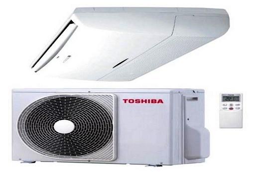 Toshiba инверторные кондиционеры напольно-потолочного типа