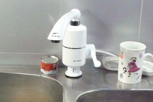 Кухонный смеситель с термостатом для подогрева воды