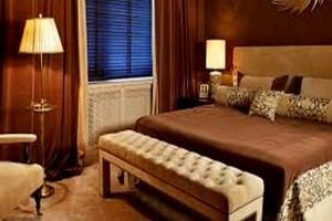 Спальня с новым чугунным радиатором