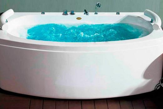 Ванна с новым сифоном