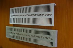 Экраны из пластика для радиаторов