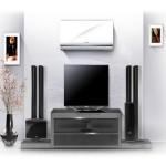 Samsung aq07tsb кондиционер над телевизором − современно и модно!