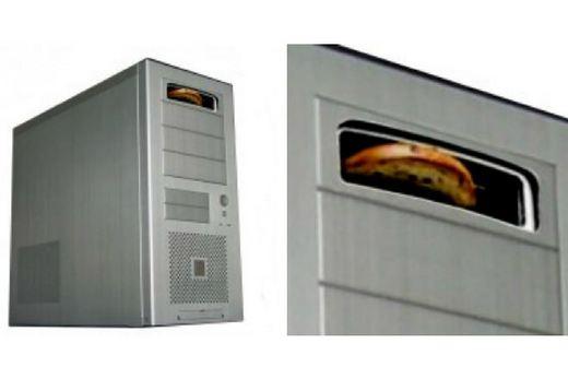 Тостер, встроенный в системный блок