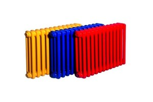 Серые чугунные батареи или ярких цветов больше не популярны!