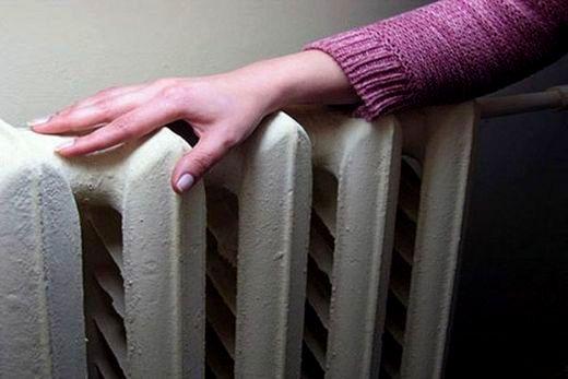 Старого образца чугунный радиатор