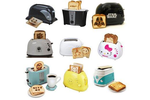 Популярные модели тостеров в интерьере