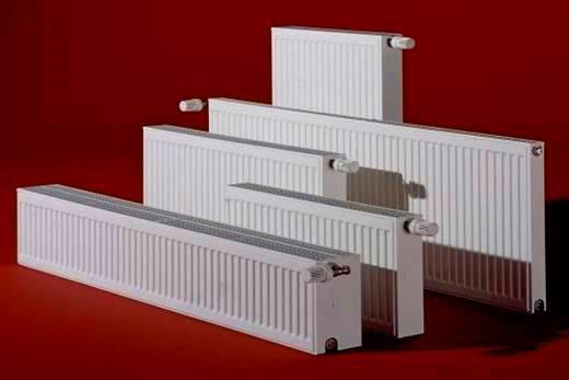 Белоснежного цвета изготавливаются радиаторы бренда Керми