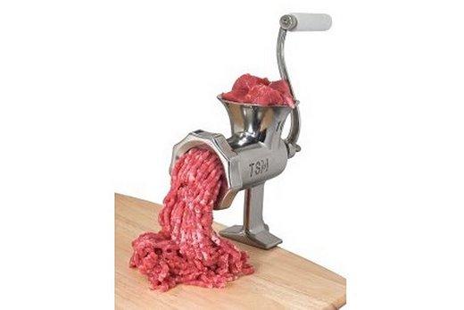 Ручная механическая мясорубка, фото