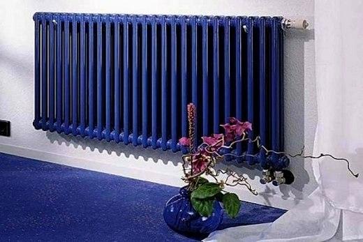 Нового образца чугунный радиатор
