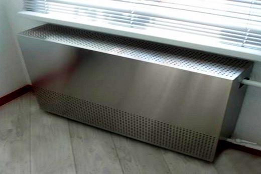 Радиатор с металлическим экраном
