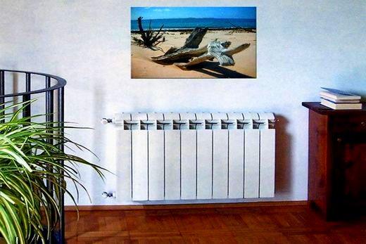 «Сира» радиатор в интерьере жилища