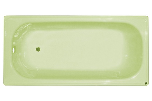 Стальная цветная ванна, фото