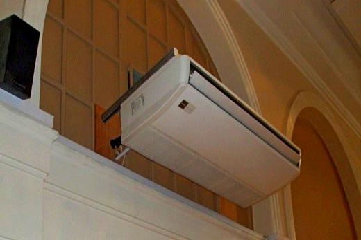 Отопление воздушного типа