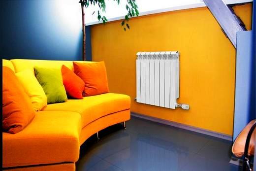 Максимум комфорта и изящного дизайна в помещении с биметалл радиаторами марки Global