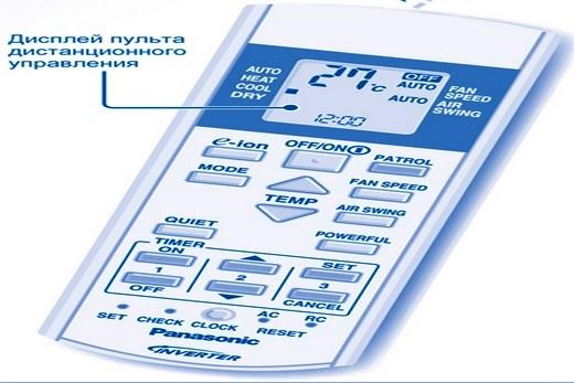 Пульт к Panasonic кондиционеру