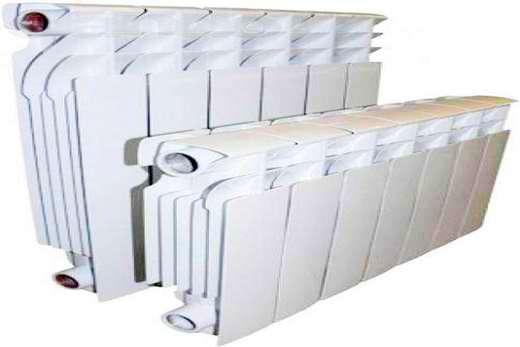 Алюминиевые батареи внешне похожи на чугунные радиаторы