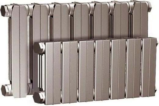 Нового образца чугунные батареи