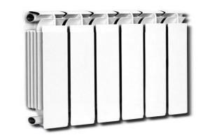 Коннер Люкс 80 500 литой алюминиевый радиатор