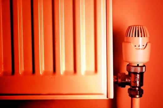 Терморегулятор у радиатора марки kermi fkv