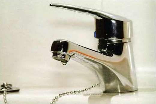 Шаровый однорычажный кран для ванной комнаты