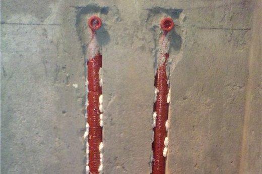 Штробы для водопроводных труб, фото