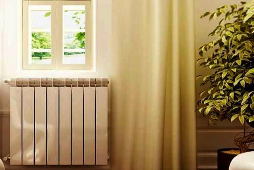Интерьер квартиры с биметаллическими радиаторами марки Konner
