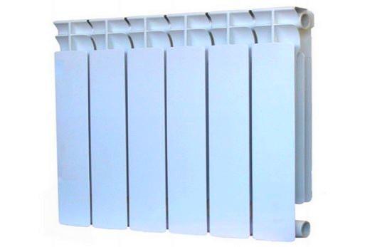 Радиатор марки «Оазис» с 6 секциями