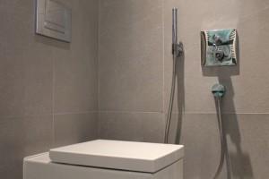Встраиваемый кран с гигиеническим душем для биде, фото