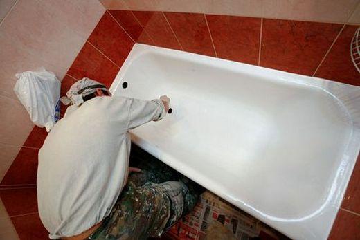 Техпроцесс эмалирования ванны