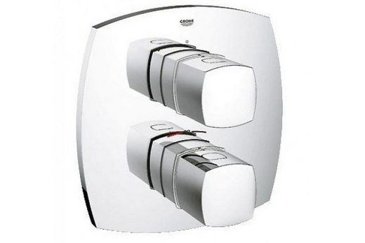 Встраиваемый смеситель для душа с термостатом, фото
