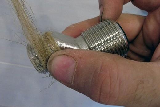 Гидроизоляция резьбового соединения