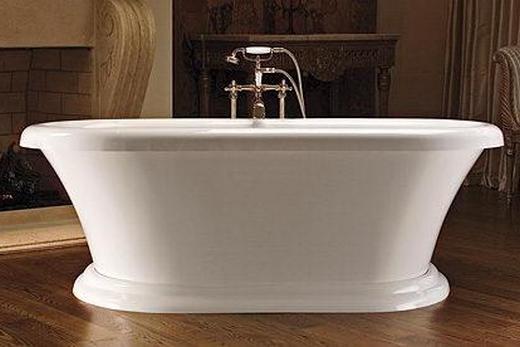 Результат ремонта ванны по второму способу