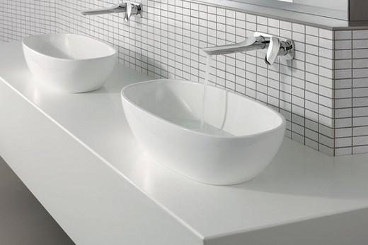 Раковины без отверстия под кран – крепление на стену ванной комнаты