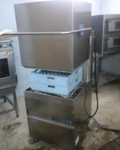 Купольная посудомоечная машина DIHR HT11