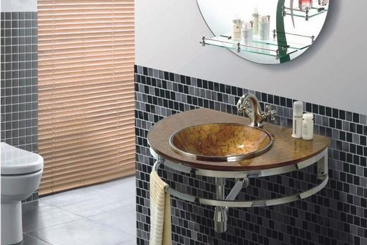 Подвесная раковина для роскошной ванной комнаты, фото